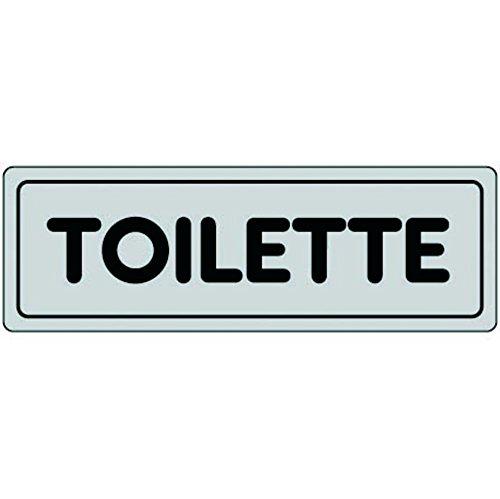 Cartelli segnaletica adesivi Pubblicentro toilette 15909630ADB0150X0050