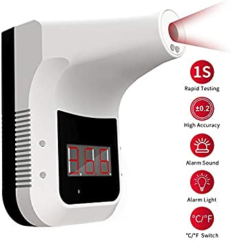 Deco Essentials Wall Mounted Non-Contact Infrared Thermometer