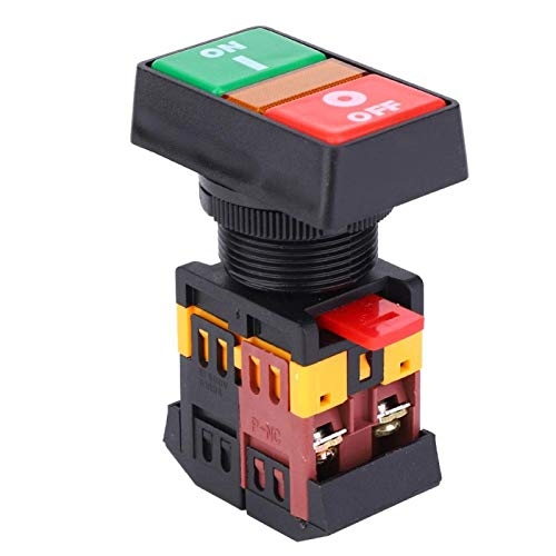 Botón pulsador momentáneo Interruptor de encendido/apagado Botón verde Equipo eléctrico para el hogar(24V)
