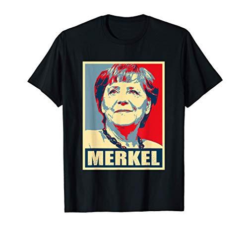 Angela Merkel Hope Design - Bundeskanzler Angela Merkel T-Shirt