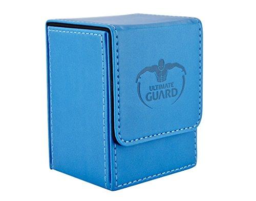 Ultimate Guard UGD010147 - Flip Deck Hülle 80+, Standardgröße, blau