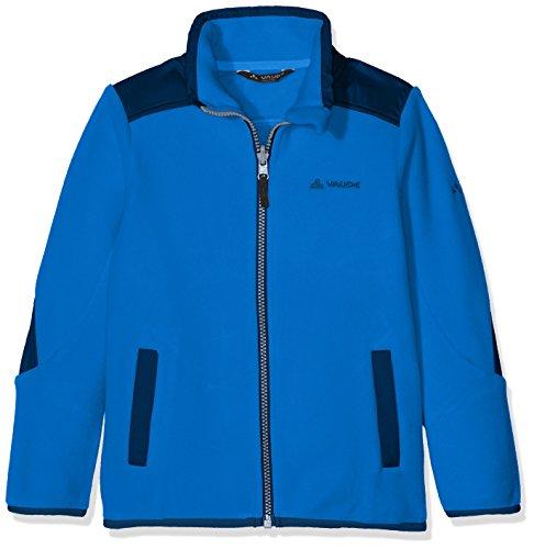 VAUDE Kinder Kids Racoon Fleece Jacket Jacke, Blue, 110/116