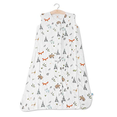 Little Unicorn Cotton Muslin Sleep Bag Product Image