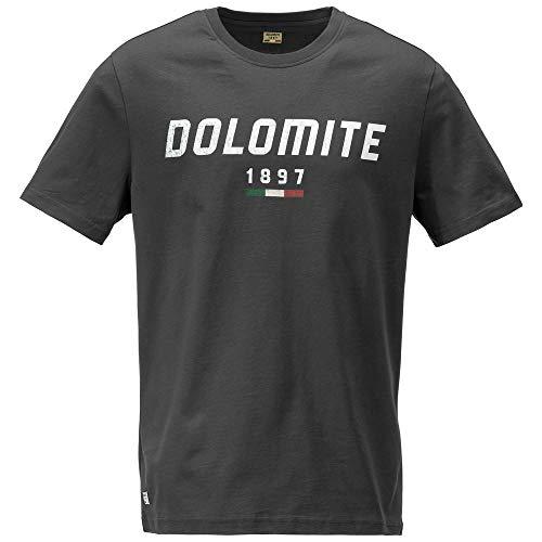 Dolomite Unisex-Erwachsene T-Shirt Settantasei Mt M Smog-Grau