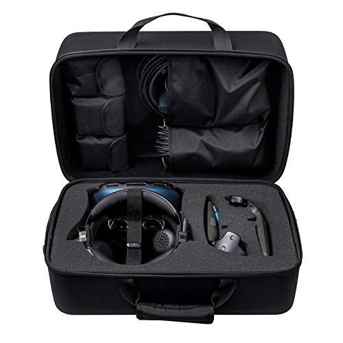 Schutzhülle für HTC Vive Cosmos Elite Virtual Reality System, Reisetasche mit Schultergurt – HTC Vive Cosmos Elite VR Schutzbox (schwarz)