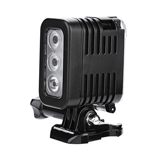 Vbestlife Luz de Relleno LED de la cámara Gopro para XiaoYi, luz de la lámpara de fotografía de Video de Buceo subacuático 30M luz de la cámara SLR