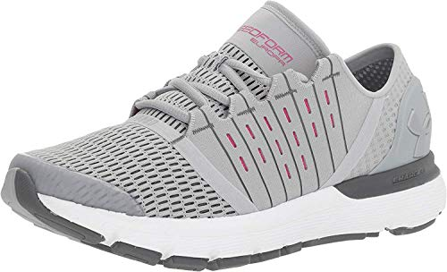Under Armour Women's Speedform Europa Running Shoe, Overcast Gray (941)/Rhino Gray, 8