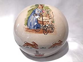 Bunnykins Royal Doulton Mom and Baby with Carriage Money Coin Ball