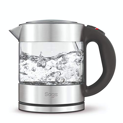 Sage by Heston Blumenthal the Compact Glass Kettle, 1 Litre, 2400 Watt by Sage by Heston Blumenthal