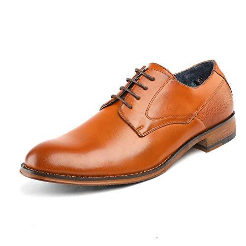 Bruno Marc Men's Dress Shoes Formal Oxford Paul_2 Brown Size 9 M US