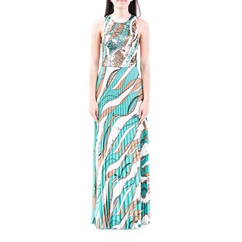 Luxury Fashion | Elisabetta Franchi Dames AB17702E2Y04 Blauw Polyester Jurken | Lente-zomer 20