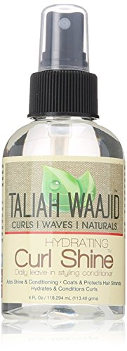 Taliah Waajid Curls, Waves and Naturals Hydrating Curl Shine, 4 Ounce by Taliah Waajid