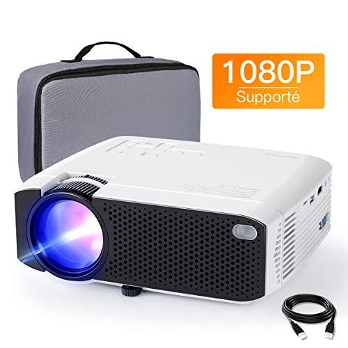 Vidéoprojecteur APEMAN Supporté 1080P FHD, 3800 Lumens Mini Portable Projecteur avec Mallette de Transport, LED Home Cinéma...