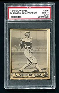 joe jackson baseball card