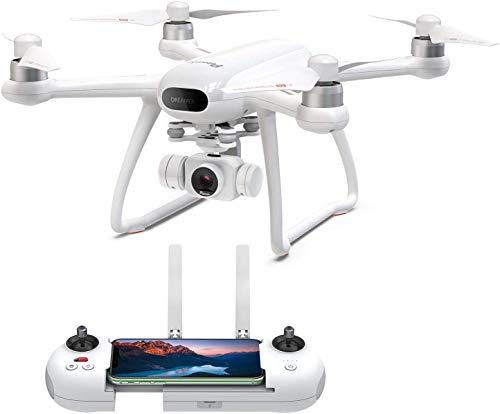 Potensic Dreamer Drones avec caméra 4K pour Adultes 31 Minutes, GPS RC avec Moteurs sans balais, Retour Automatique à la Maison, Maintien d'altitude, Suivez-Moi, WiFi 5.8GHz, Longue portée de contrôle