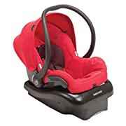 """Lightest premium infant car seat available For children from 5-22 pounds and up to 29"""" in height Side impact protection Includes a convenient stay-in-car adjustable case, cozi-dozi infant head support for smaller babies, and adjustable sun canopy Ada..."""