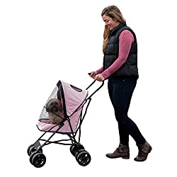 Number two on our list of the top ten pet strollers is the Pet gear Travel Lite stroller