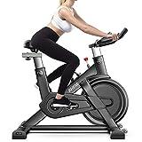 MDYHMC QNYF AYSMG QM720 hogar Inteligente Ultra silencioso Bicicleta de Spinning Cubierta Equipos de Gimnasia, Soporte App Monitoreo del Ritmo cardíaco y Juegos Online