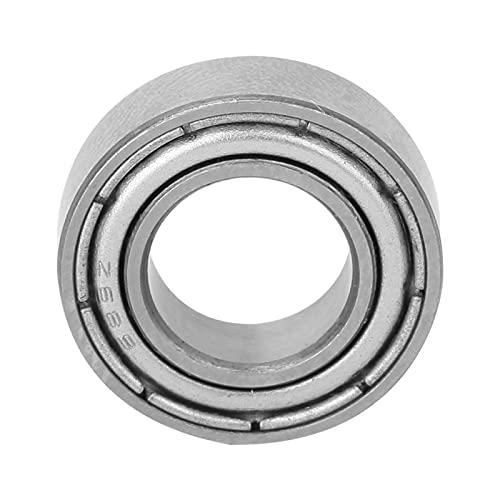 Rodamientos de doble sello de metal tipo ZZ de 10 piezas, ID de 6/7/8/9 mm, rendimiento rentable y estable, rodamientos de bolas de ranura profunda(688-ZZ)