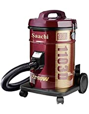 Saachi NL-VC-1103D Canister Vacuum Cleaner, Maroon Red