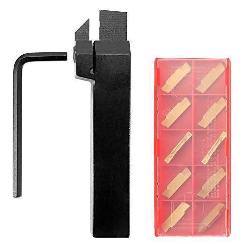 Roeam torneado herramienta con llave Torno Ranurado Externo Corte Borning Porta de carburo Inserto