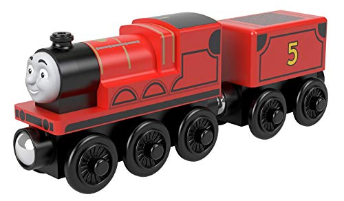 Thomas and Friends Tren de Juguete Gordon de Madera, Juguetes para Niños +2 Años (Mattel GGG62)