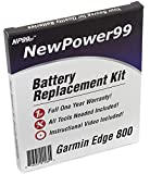 Battery Kit for Garmin Edge 800 with Tools, Video Instructions and Battery by NewPower99