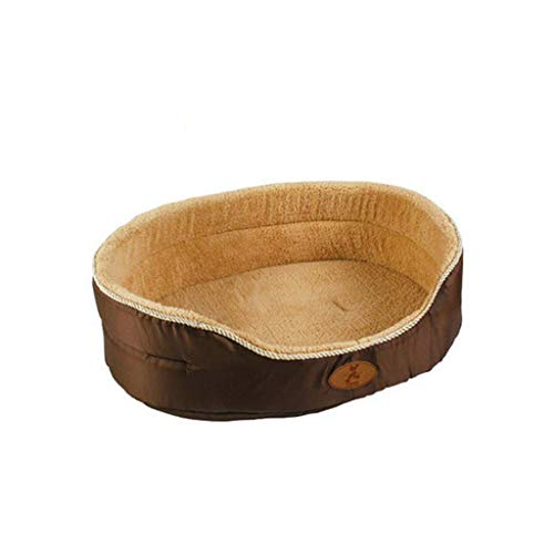 Dirgee Pet Nest Confort Mat DESPUÉS DE Durante WAPETE Pet Cable CUADA CUADA PERIFA (Color: 2, Tamaño: 80 cm) (Color : 1, Size : 80cm)