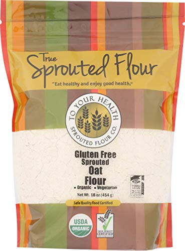 To Your Health Sprouted Flour, Flour Oat Organic, 16 Ounce