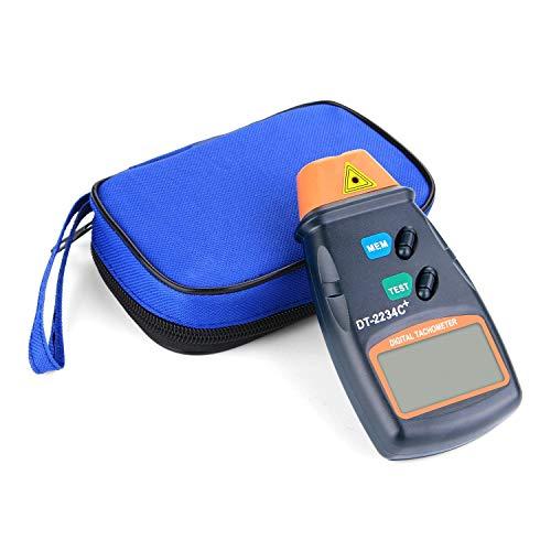 QUMOX Digital Infrared Infrarot Umdrehungsmesser DT2234C Berührungsloser Tachometer Drehzahlmesser