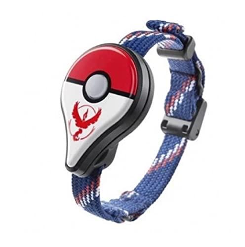 QWRT Pokemon Go Plus Red Team Pulsera Pocket Auto Catch Interruptor De Banda De Carga Bluetooth Capturador Automático Figura De Acción De Fantasía Juguetes Regalos para Niños