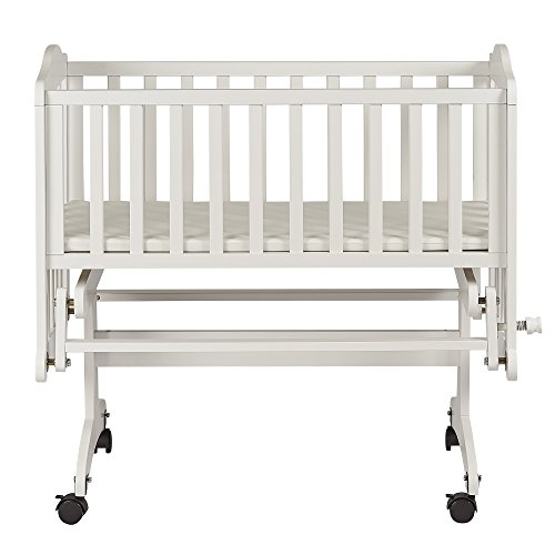 Dream on Me Lullaby Cradle Glider, White (644-W)