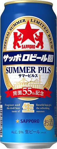サッポロビール園 サマーピルス [ 500ml×24本 ]