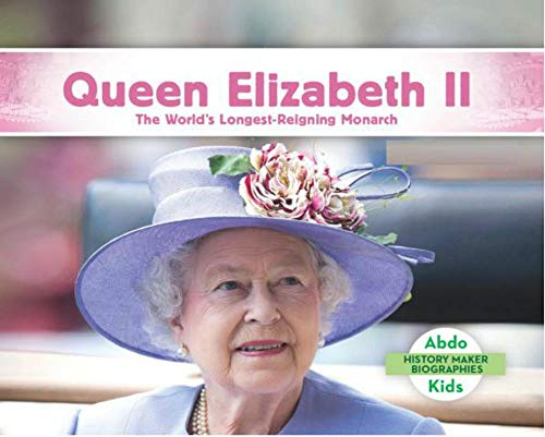 Queen Elizabeth II: PiCture book of Children's growth (English Edition)