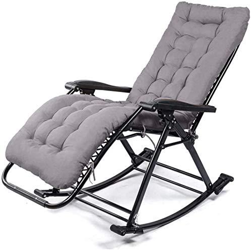 XLYYHZ Fauteuil À Bascule Pour Patio Fauteuil Zero Gravity Chaise Pliante De Piscine Extérieure Pour Chaise Longue Pour Patio/Piscine Et Camping