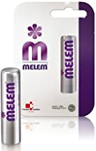 Melem Lip Balm 6 Sticks, Moisturizes and Soothes, with Lanolin, Coconut Oil, Shea Butter and Beeswax in Val...