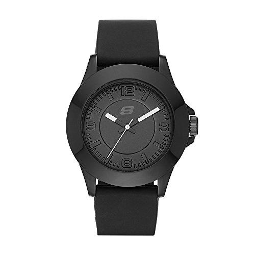 Skechers Damen Quartz Uhr mit Silikon Armband SR6024