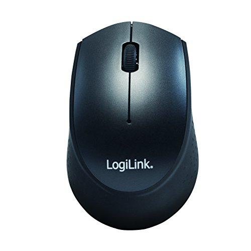 LogiLink ID0161 Tastatur Maus Kombination Funk 2.4 GHz schwarz