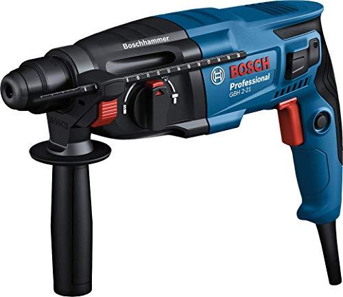 Bosch Professional GBH 2-21 - Martillo perforador combinado (2 J, Ø máx. hormigón 21 mm, SDS plus, en maletín)