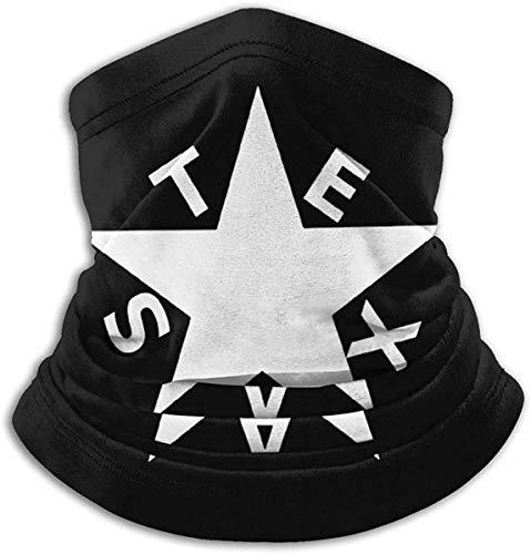 huatongxin Texas History Lorenzo De Zavala pasamontañas militar bufanda transpirable microfibra calentador de cuello para Unisex