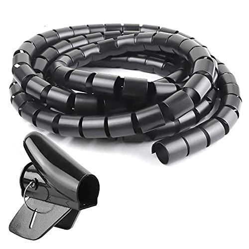 shjjyp Organizador De Cables Organizador Cables Recogecables Recoge Cables 2metros 22mm Tubo...