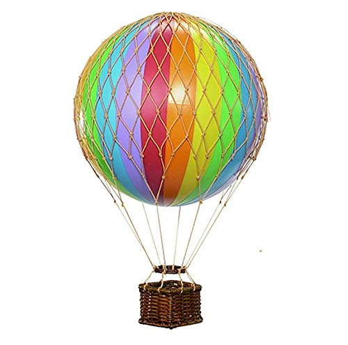 Authentic Models - Dekoballon - Ballon Regenbogen - 8 cm