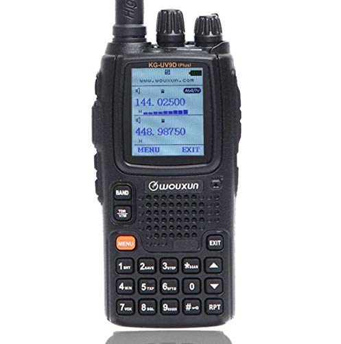 Wouxun KG-UV9D Plus Seven Bands Reception(Including Air Band Dual Bands Transmission Cross Band Repeater Ham Two Way Radio