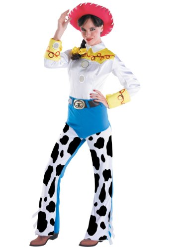Disguise Women's Jessie Deluxe Adult,Multi,L (12-14) Costume