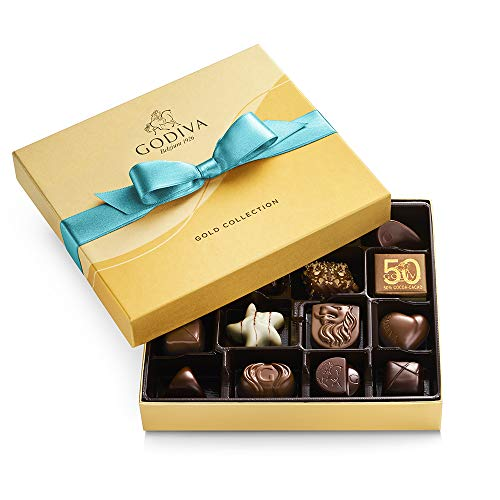 Godiva Chocolatier Assorted Chocolate Gift Box, 19 pieces, 6.9 Oz