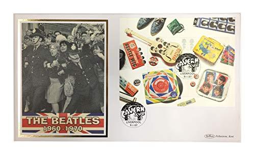 Royal Mail Beatles 2007 - Set di francobolli First Day Cover (Cavern Club), Edizione Limitata