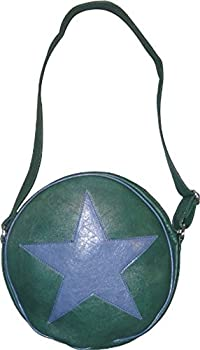 TV Store Scott Pilgrim vs The World Ramona Flowers Star Circle Messenger Bag  Hunter Green/Navy