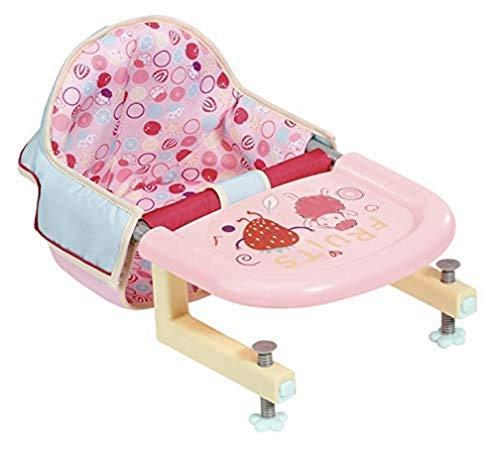 Baby Annabell Lunch Time Tischsitz für 43cm Puppe - leicht für kleine Hände, Kreatives Spiel fördert Empathie & Soziale Fähigkeiten, für Kleinkinder ab 3 Jahren