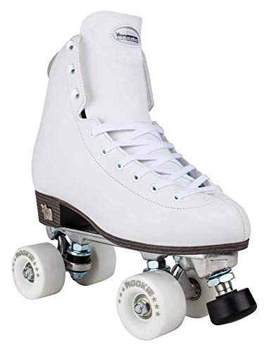 Rookie Rollerskates Artistic Skates Unisex Erwachsene Weiß (White), 6