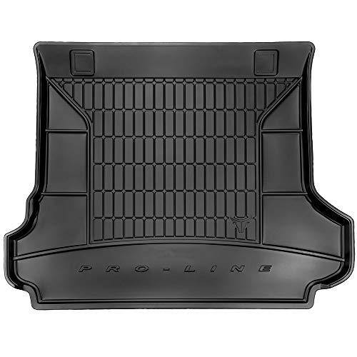 DBS Tapis de Coffre Auto - sur Mesure - Bac de Coffre pour Voiture - Rebords Surélevés - Caoutchouc Haute qualité - Antidérapant - Simple d'entretien - 1766589